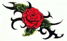 Abziehbild,Motiv Tattoo 31