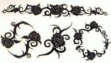 Abziehbild, Motiv Tattoo 41