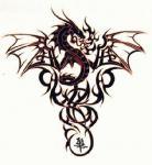Abziehbild, Motiv Tattoo 53