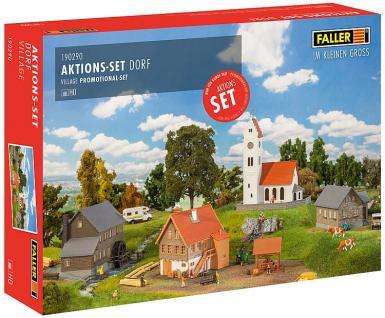Faller 190290 Aktions-Set Dorf