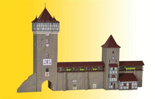 Kibri 37362 Stadtmauer mit Fachwerkturm