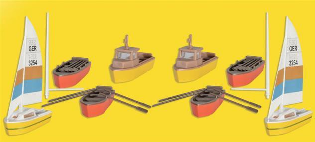 Kibri 39159 Boote