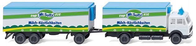 Wiking 094104 Kühlkofferlastzug