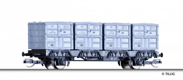 Tillig 14911 Behältertragwagen der DR