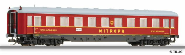 Tillig 16960 Schlafwagen Mitropa