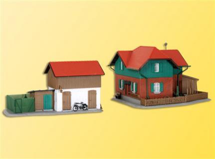 Kibri 39320 Wärterhaus mit Nebengebäude