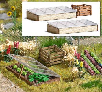 Busch 1523 Frühbeetkästen und Komposter