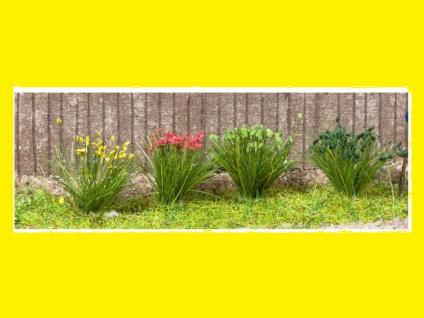 Noch 07026 Grasbüschel blühend gelb