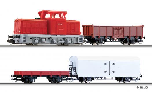 Tillig 01440 TT Start Güterzug-Set