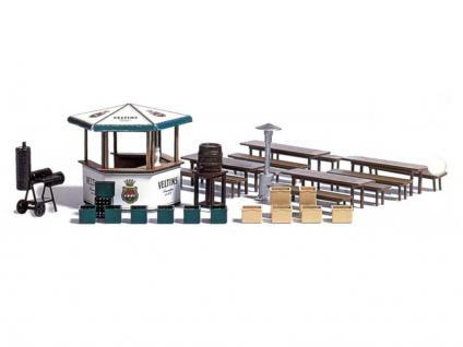 busch 1048 gartenlokal kaufen bei modelleisenbahnladen saase leuteritz gbr. Black Bedroom Furniture Sets. Home Design Ideas