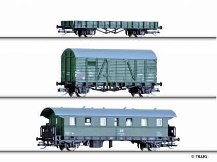 Tillig 01705 Bauzug 31 Wagenset der DR