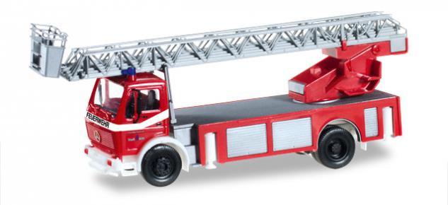 Herpa 092517 MB Metz Feuerwehr Drehleiter