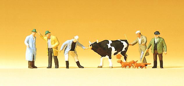 Preiser 75021 Viehhandel