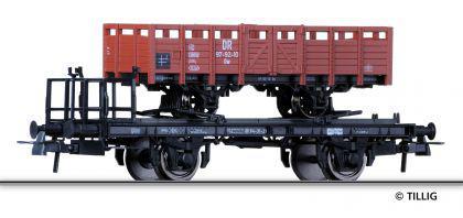 Tillig 76573 Schmalspur-Transportwagen