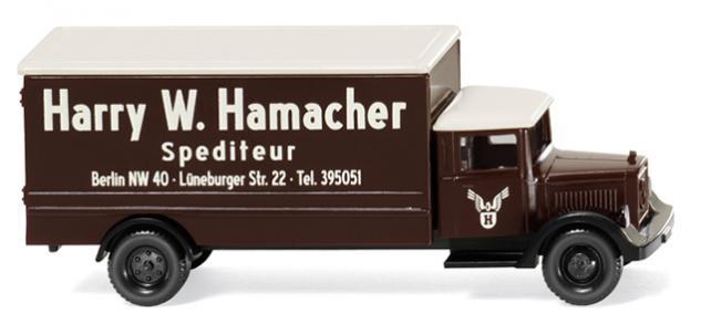 Wiking 094407 LKW Spedition Hamacher - Vorschau 1