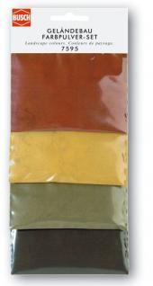 Busch 7595 Farbpulver-Set