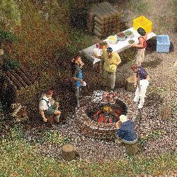 Busch 5407 Lagerfeuer mit Grill