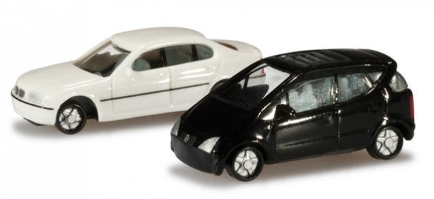 Herpa 065115-002 PKW Set MB und BMW