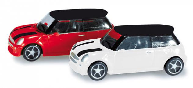 Herpa 065252-002 PKW Set Mini Cooper