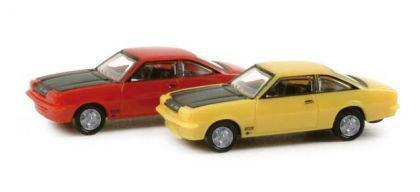 Herpa 065726 PKW-Set Opel Manta