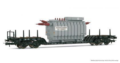 Rivarossi HR6182 Tiefladewagen mit Trafo