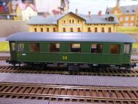 Sachsenmodelle 14207 Personenwagen DR