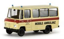 Brekina 36705 Mercedes Mobile Ambulanz