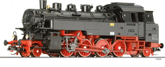 Tillig 02179 Dampflok BR 86 DR