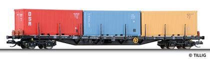 Tillig 15584 Containertragwagen der DR