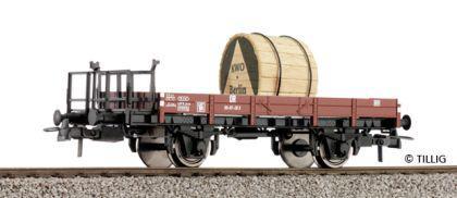 Tillig 76506 Niederbordwagen mit Kabelrolle