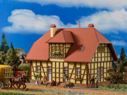 Vollmer 3654 Siedlungshaus mit Fachwerk