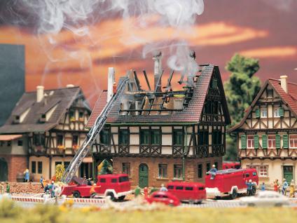 Vollmer 47738 Brennendes Haus