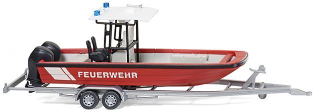 Wiking 009547 Feuerwehr Mehrzweckboot