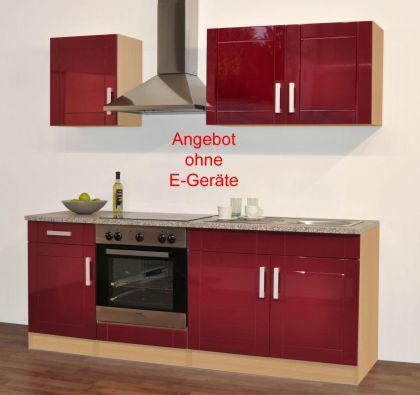Emejing Küchenzeile Ohne Elektrogeräte Contemporary ...