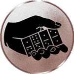 Emblem Domino, 50mm Durchmesser - Vorschau 1