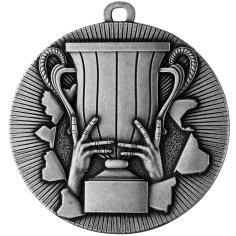 Medaille neutral Ø50mm silber