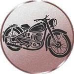 Emblem Oldtimer Motorrad, 50mm Durchmesser - Vorschau 1