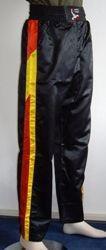 Kickboxhose schwarz/rot/gelb