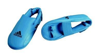 adidas Spannschutz / Fußschutz blau, Gr. S