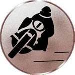 Emblem Motorrad, 50mm Durchmesser