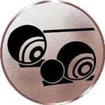 Emblem Boccia, 50mm Durchmesser - Vorschau 1
