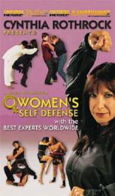DVD:ROTHROCK-WOMENS SELF DEFENSE (113)