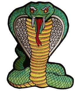 Aufnäher Cobra gross