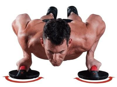 IRON GYM PUSH UP - drehbare Liegestützgriffe 2