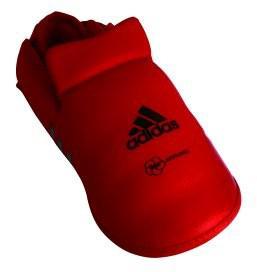 adidas Spannschutz / Fußschutz rot, Gr. S - Vorschau 3