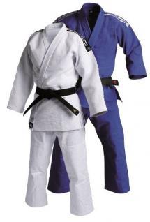 adidas Judoanzug Slim Fit IJF blau