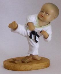 Kampfsport Figur