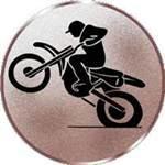 Emblem Moto-Cross, 50mm Durchmesser - Vorschau 1