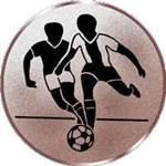 Emblem Fussball Herren, 50mm Durchmesser - Vorschau 1