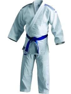 Judoanzug adidas Contest weiß, 155 cm